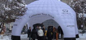 Infiniti Customer Test Drive Livigno